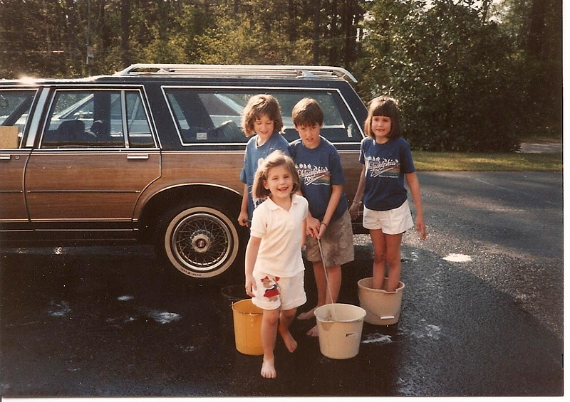 Car Washers - Easter '87