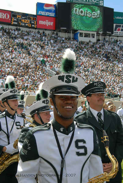 Spartan Marching Band 2007