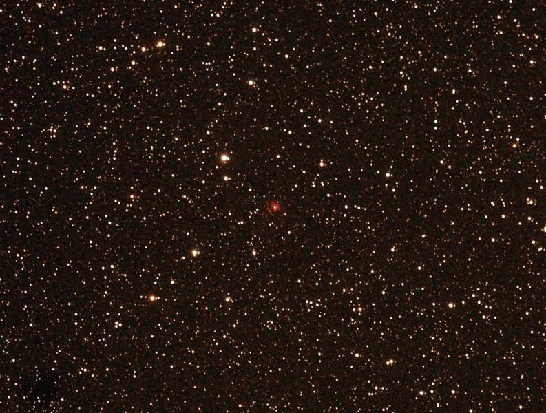 Gum 7 - Sh2-307 Nebula - 1/2/2014 (Processed cropped stack)