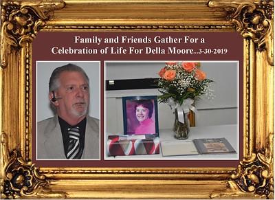 3-30-19 Celebration of Life for Della Moore