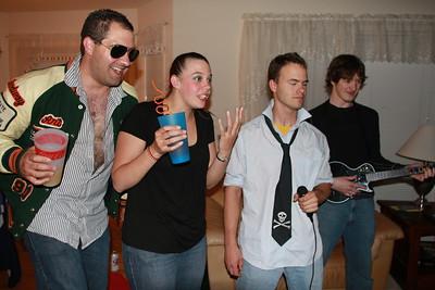 80s Party 2 - Noah, Katie, Art, Stephan's Housewarming!