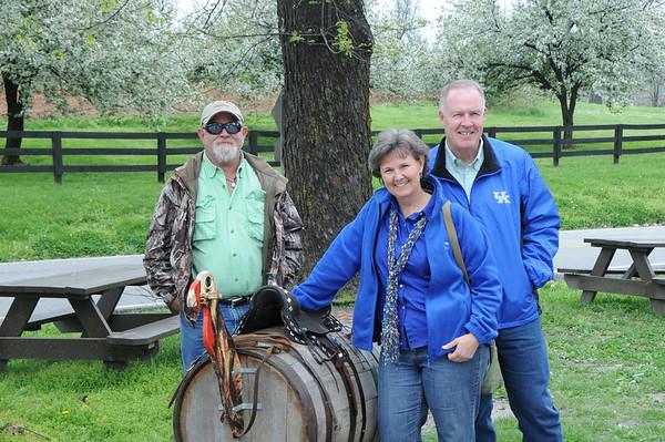 April 2012, Cindy, Tommy, Berea, Richmond, Frankfort, Lex, Natural Bridge