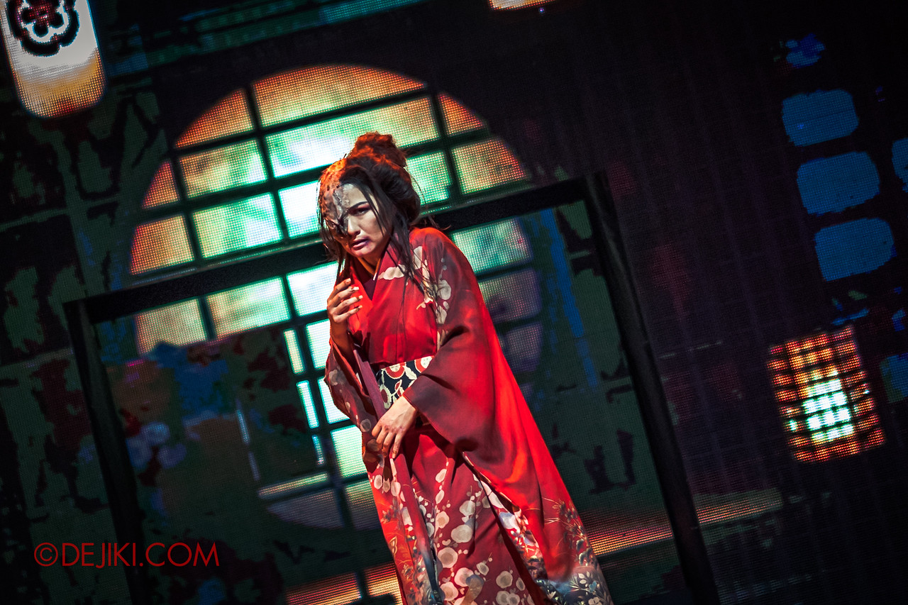 Universal Studios Singapore Halloween Horror Nights 8 - Infinite Fear Stage - Lady Oiwa