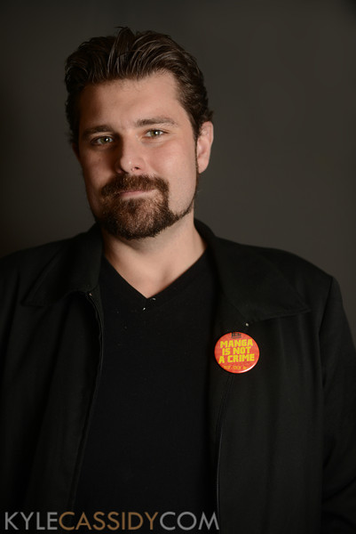 Charles Brownstein - executive director of the Comic Book Legal Defense Fund.JPG