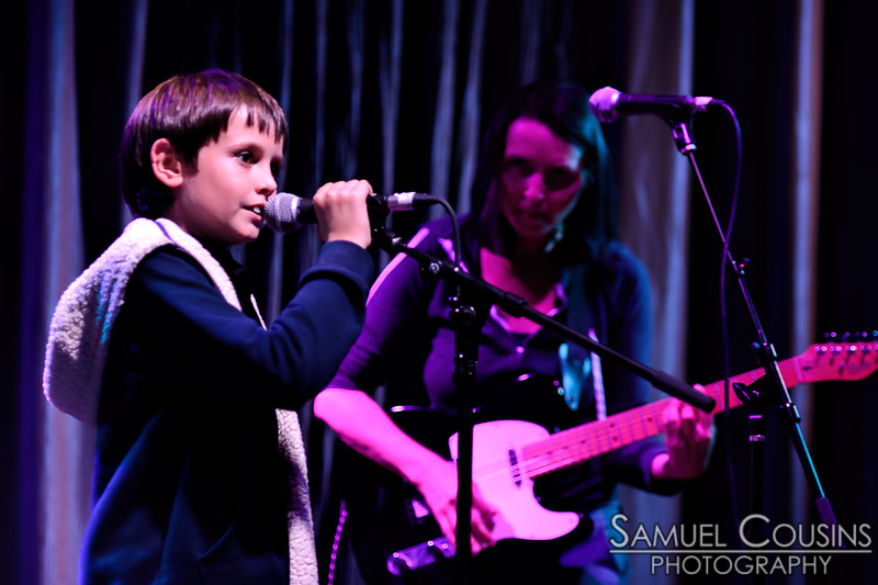 Chandra Oppenheim & Dan Capaldi, and the Young Songwriters Project, at One Longfellow Square