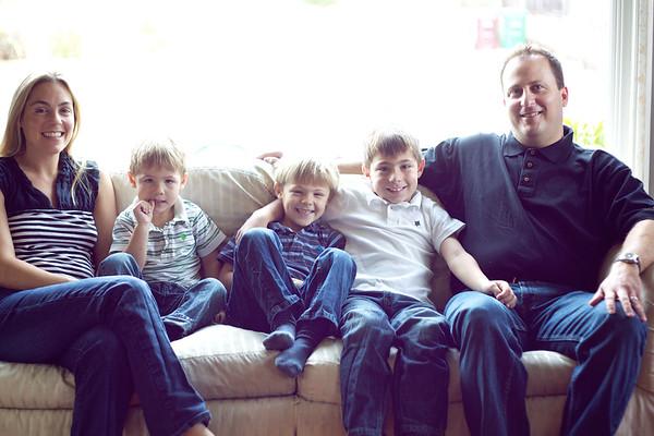 Jennifer, Jesse, Eric, Cory & Aaron