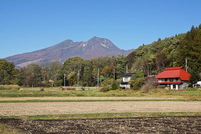 Okubo and Lake Nojiri in the Fall