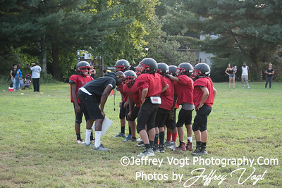 08-17-2017 North Potomac Braves Jr Pee Wee vs Maplewood Scrimmage at Quince Orchard HS, Photos by Jeffrey Vogt Photography