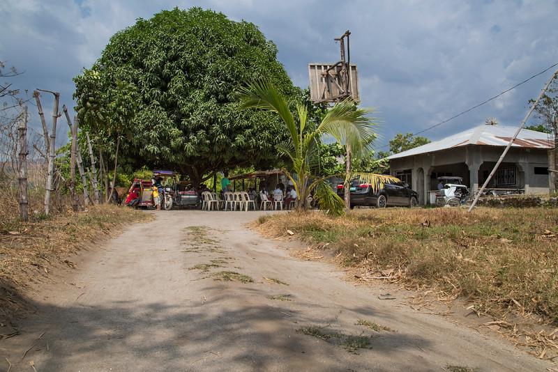 Chito Balintay's house in Botolan where the Aeta organize every Monday,