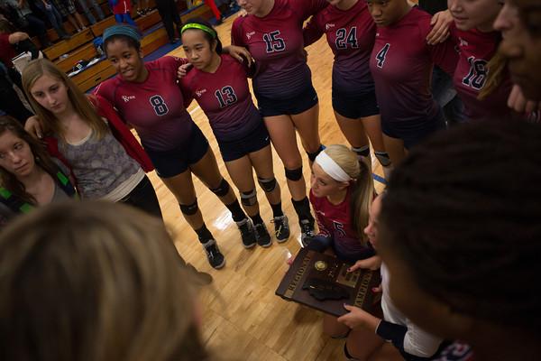 2012 Girls Volleyball Regionals