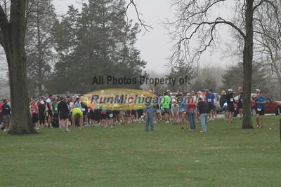 Start - 2012 No Frills All Thrills Trail Run