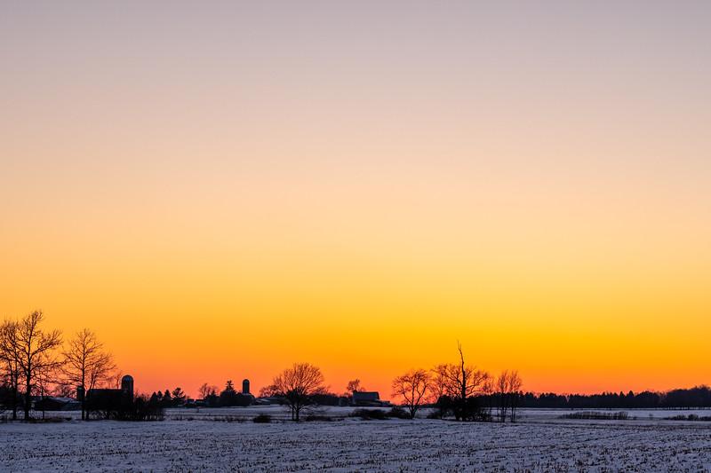 sunset over the Webber's barn 2-16-20-25.jpg