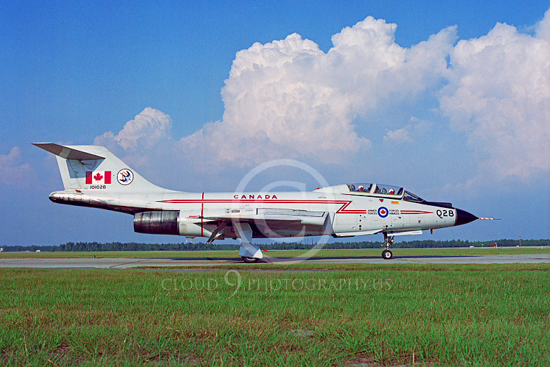 F-101BForg 00007 McDonnell F-101B Voodoo Canadian Armed Forces 101028 Tyndall AFB by Peter J Mancus .JPG