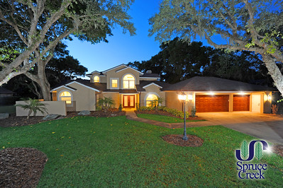 2578 Spruce Creek Blvd. | Nature Home with Dock on Spruce Creek