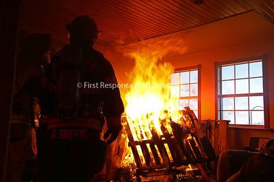 "Bells Texas (Grayson County) Live burn training Part 1 ""Interior Operations"""