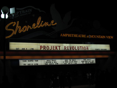 Projekt Revolution with Linkin Park and Chris Cornell - 9 Aug 08 - Shoreline Amphitheatre - Mountain View, CA