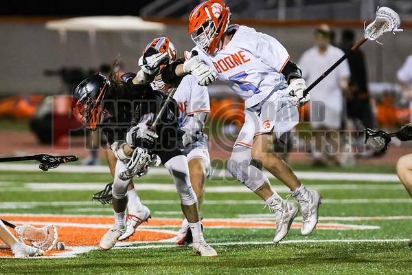 Sanford Seminole @ Boone Boys Varsity Lacrosse - 2019