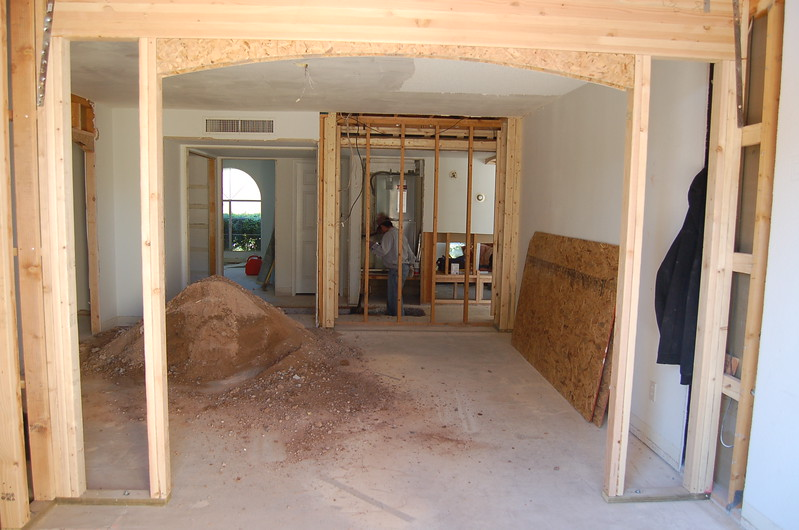 Master bedroom view from the master bath.