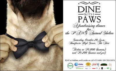 Dine with PAWS
