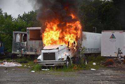 Tractor Trailer Fire - 301 Otis Street, Rochester, NY - 7/7/21
