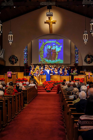 Ceremony of the Carols, Christmas Dinner, VFW Band 12-15-2013