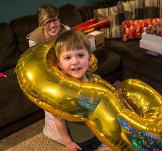 Owen is Three