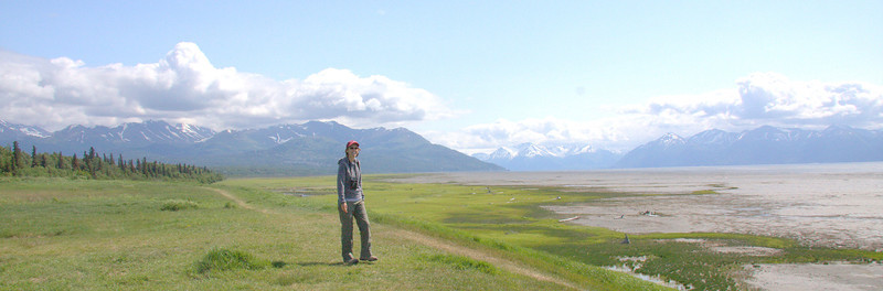 The beautiful mud flats of the Knik Arm