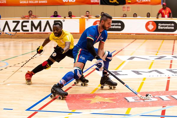 5th place final: Angola vs Italy