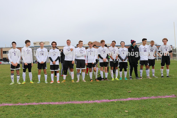 BVT Boys Varsity Soccer Senior Game vs Assabet