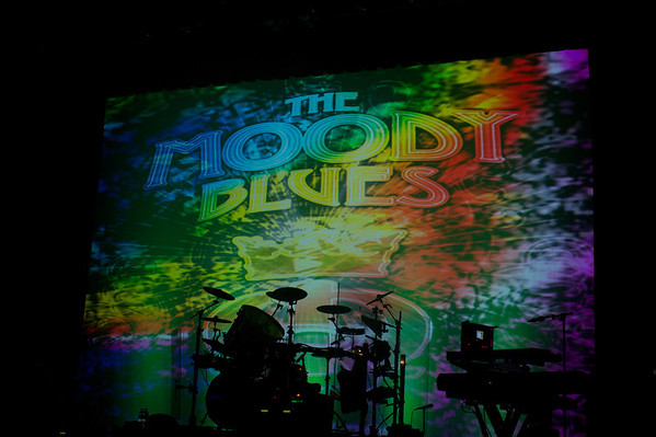 The Moody Blues perform at Club Nokia