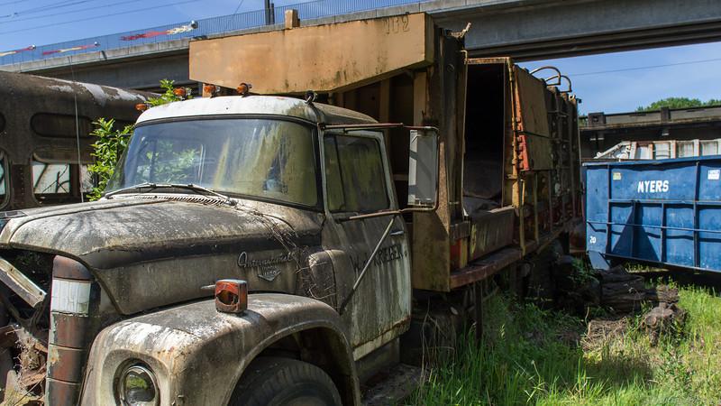 Budd Hoffman Truck Graveyard