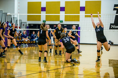 HS Sports - Waunakee Volleyball - Oct 10, 2015