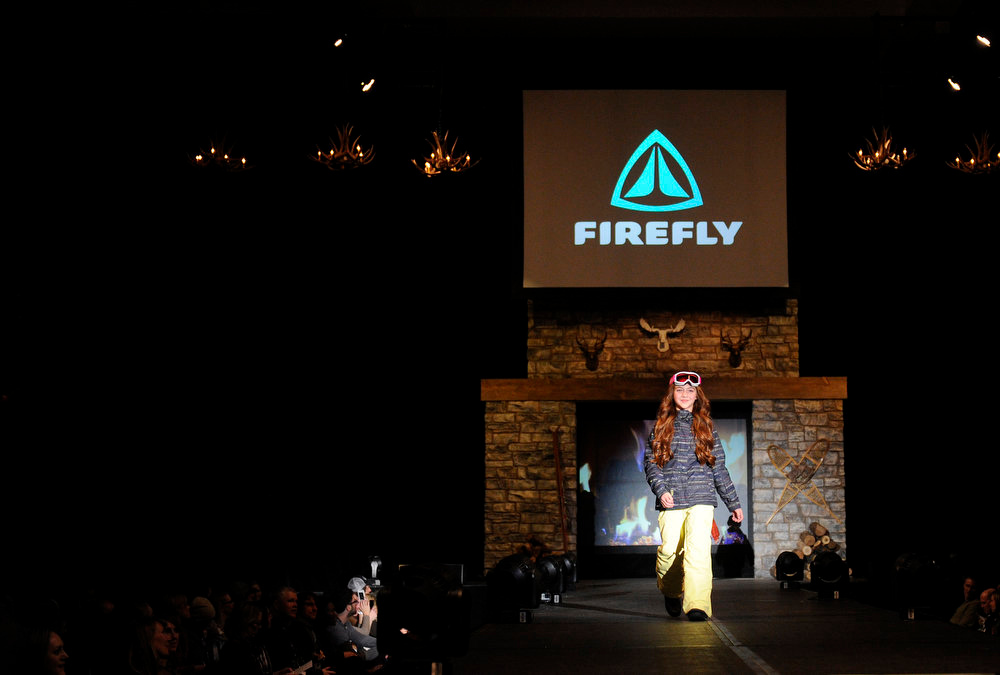 . Firefly snow gear for youth, as the SIA Snow Show hosted its 2013 Snow Fashion & Trends Show at the Colorado Convention Center  in downtown Denver  on Wednesday, January 30, 2013.  (Photo By Cyrus McCrimmon / The Denver Post)