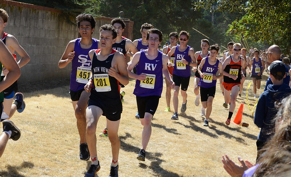 Ridgeview at Marist High XC Invitational (Sept 2018)