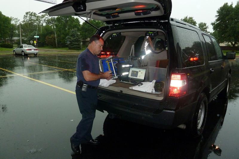 Chief Kolomay at Jay Stream school 8-4-2010 during rainstorm.jpg