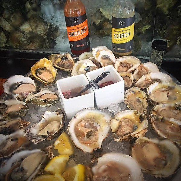 Happy #nationaloysterday from the friendly confines of @gtfishoyster !!
