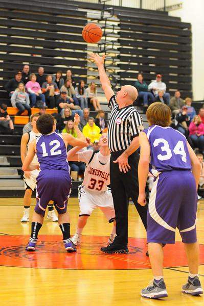 Jonesville vs Athens Boys Basketball