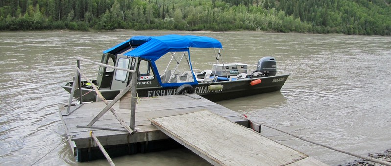 "A ""CRUISE""  ON  THE YUKON RIVER"