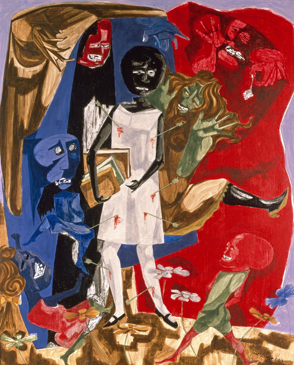 "Jacob Lawrence, ""Ordeal of Alice"" (1963)"