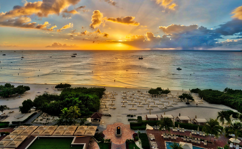 Another Perfect Sunset In Aruba