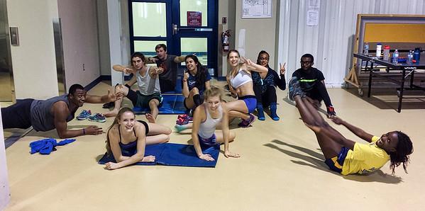 Practice LU Indoors'16