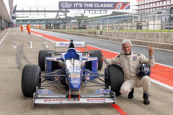 Damon Hill - The Classic - Silverstone