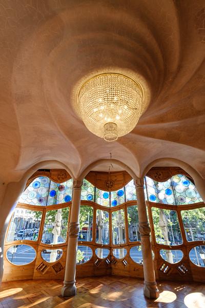 Interior view of Casa Batllo