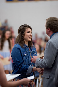 Halle's National Jr Honor Society Ceremony (April 30)