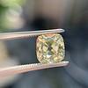 2.10ct Light Yellow Antique Peruzzi Cut Diamond, GIA W-X SI2 8