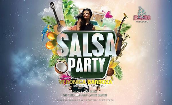 Folies Phuket, Salsa Party with Veronica Barboza 13.2.2020
