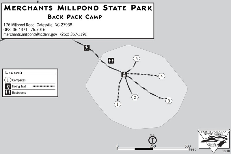 Merchants Millpond State Park (Hike-In Campground)