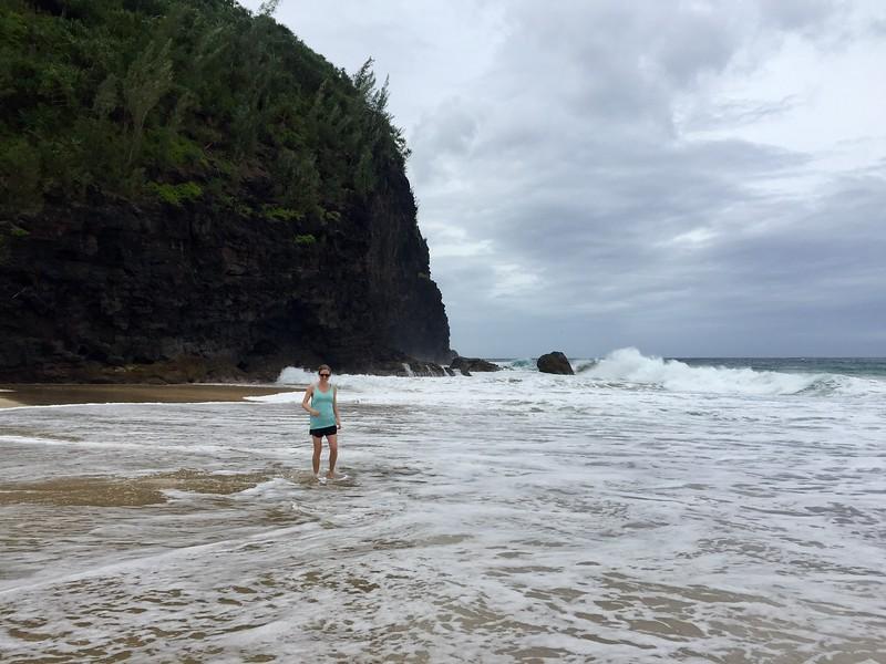 Kjirsten Kalalau Trail Hanakapi'ai Beach