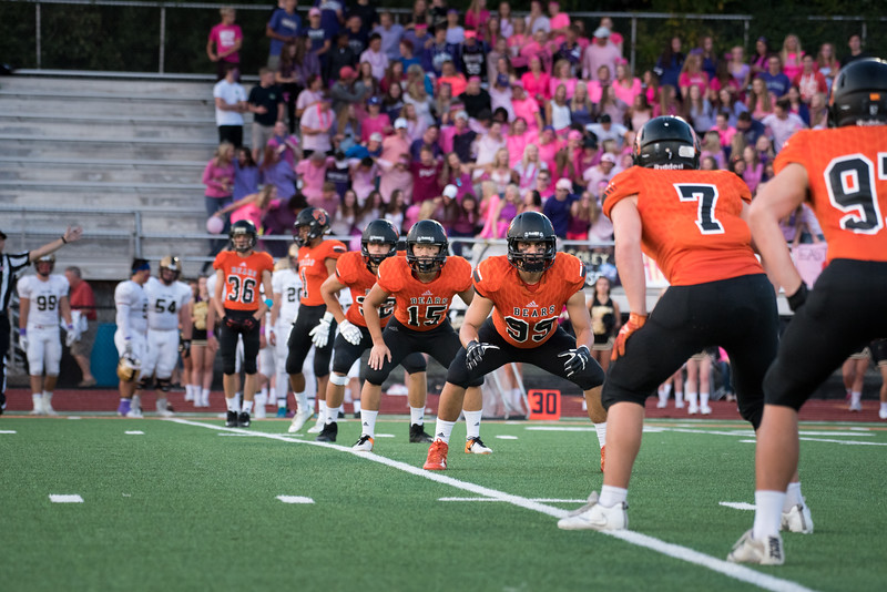 WBL Football -V- East Ridge Game Pics