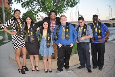 Upward Bound Wichita Prep Bridge Student Award Dinner June 21, 2018